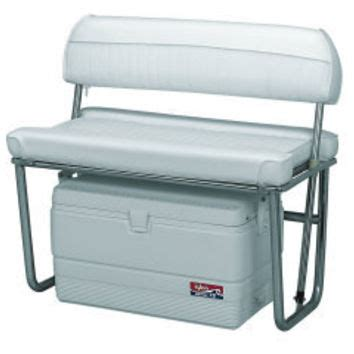 cooler seat for boat offshore swingback cooler seat cooler from iboats boat