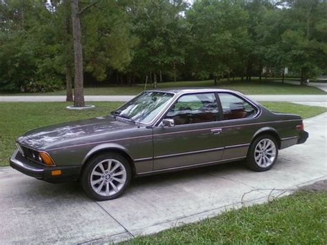 bmw 623 csi sell used 1977 bmw 630 csi coupe two owner low in
