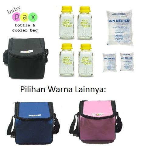 Babypax Botol Asi Kaca 150 Ml babypax coolerbag paket botol asibayi