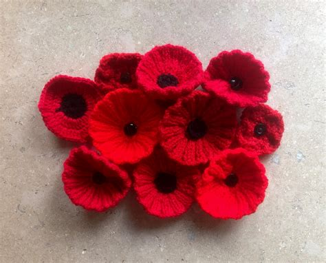 knitting pattern red poppy help knit 17 000 poppies for the royal british legion