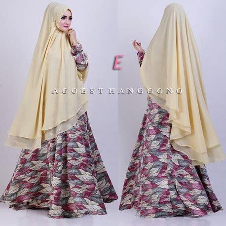 Baju Muslim Rosma velora e baju muslim gamis modern