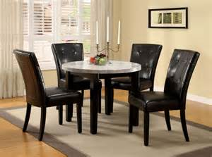 marble top dining room sets marion i marble top round dining room set cm3866rt 40