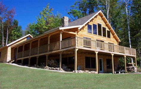 mountain view home plan by coventry log homes mywoodhome
