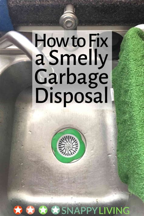 Can You Install A Garbage Disposal On Any Sink by How To Fix A Smelly Garbage Disposal Snappy Living