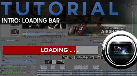 tutorial sony vegas pro 10 romana tutorial sony vegas loading bar intro limba romana