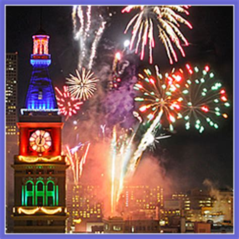 new year in denver new years fireworks downtown denver colorado events