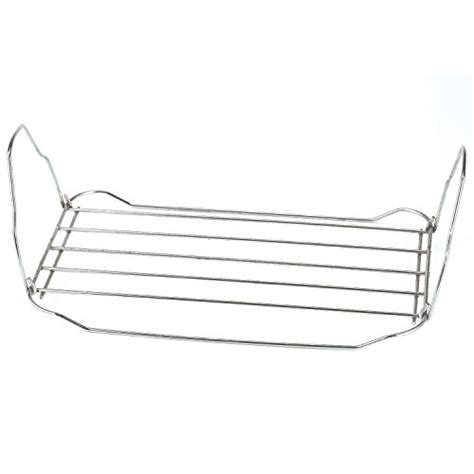 Turkey Roaster With Rack by 18 Quart Turkey Roaster Oven With Roasting Rack Silver Tec Ofertas