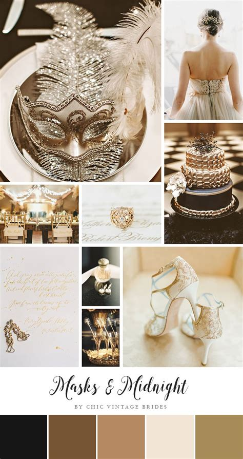 New Wedding Ideas by Masks Midnight Glamorous New Year S Wedding