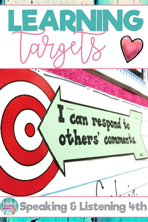 printable common core learning targets best 25 learning target display ideas on pinterest