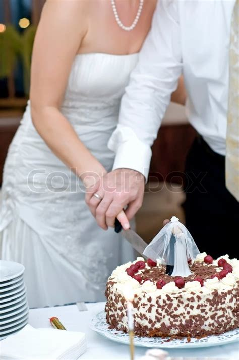 Hochzeitstorte 80 Personen Preis by Wedding Cake Stock Photo Colourbox