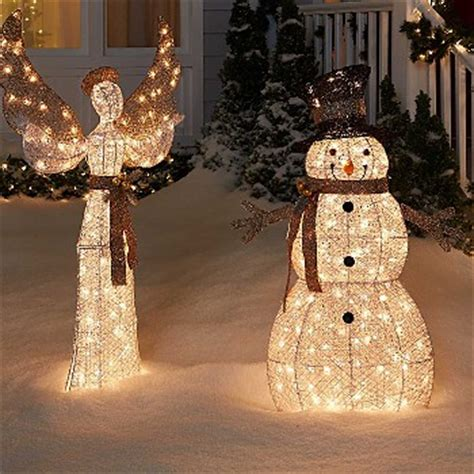 sears outdoor lighted christmas garland decorations kmart