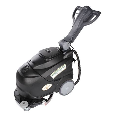 18 quot electric automatic floor scrubber cleanfreak