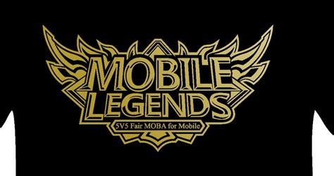 mobile legend logo jual kaos mobile legends gaming tshirt di lapak sugeng