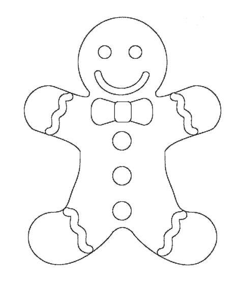 printable coloring pages gingerbread man free christmas coloring pages gingerbread man