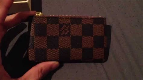 louis vuitton ebene coin pouch aliexpress unboxing 1