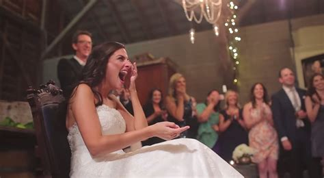 wedding guest shocked when bride and groom demand more groom and his wedding guests give the beautiful bride an