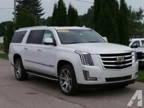 Cadillac Escalade 4x4 For Sale 2016 Cadillac Escalade Esv Premium Collection 4x4 Premium