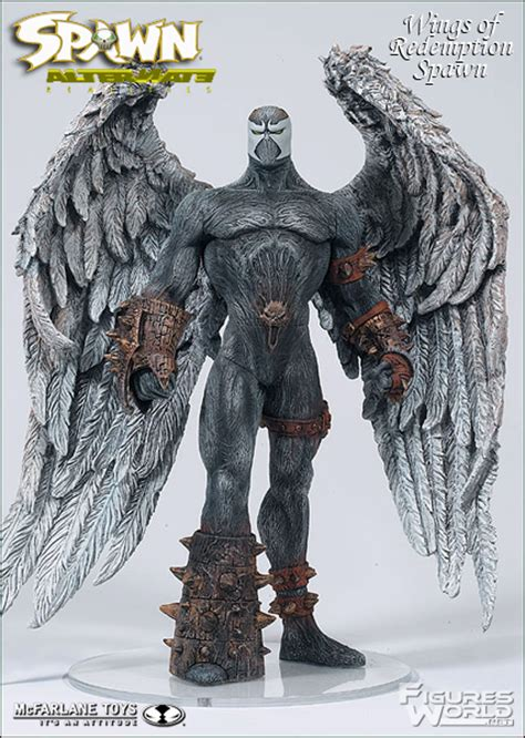 Spawn Figure Wings Of Redemption figuresworld gt spawn gt spawn reborn series 3
