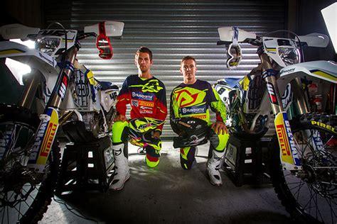 acerbis motocross boots husqvarna enduro team partners with acerbis dirt action