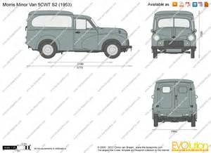 the blueprints com vector drawing morris minor van 5cwt s2