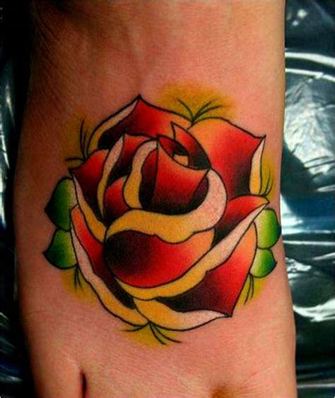 red rose tattoos meaning trend styles spesific colors meaning