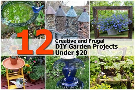 Gardening Project Ideas 12 Creative And Frugal Diy Garden Projects 20