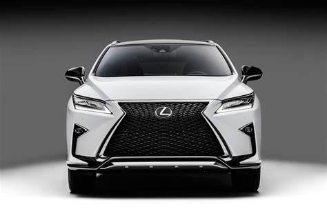 white lexus 2017 interior 2016 lexus rx 350 f sport and rx 450h show up in nyc