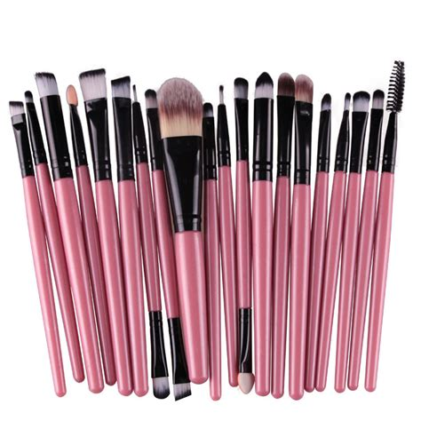 Lu 16 Set tools makeup brush set 20 pink black was sold for r199 00 on 14 jun at 22 16 by
