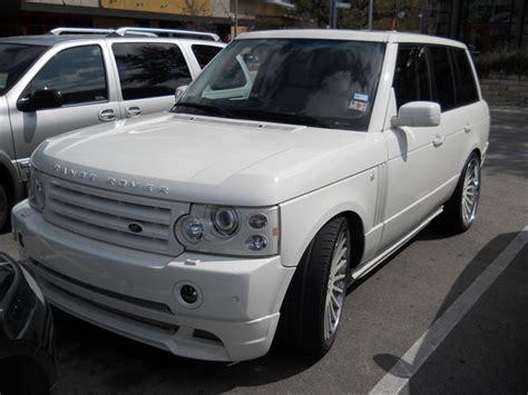 all white range rover all white custom range rover