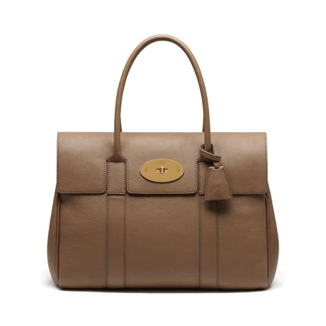 Mulberry Bayswater Handbag by Mulberry Bayswater Leather Bag In Lyst