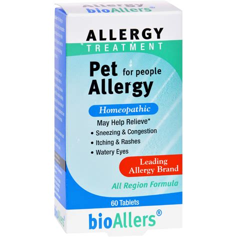 allergy medicine for dogs bio allers pet allergy treatment for 60 tablets ebay