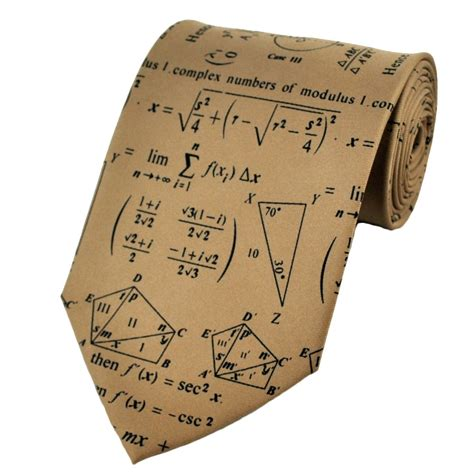 complex maths novelty tie from ties planet uk