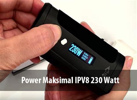 Garskin Mod Ipv8 Ipv 8 Parrotskin Indonesia review mod harga 500 ribuan inilah spesifikasi mod ipv8 vapeku