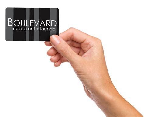 Boulevard Gift Card - buy gift cards boulevard restaurant lounge