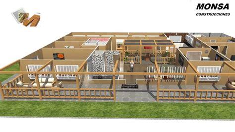 planos de casas con patio central casa patio central
