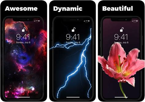 best live wallpaper apps for iphone xs and xs max in 2019