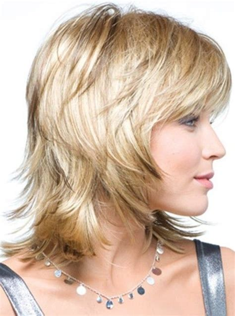 lots of layers fo short hair shag haircuts for mature women over 40