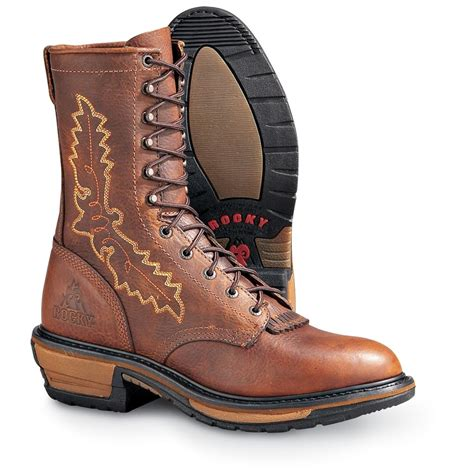 s packer boots s rocky 174 9 quot spokane packer boots brown black