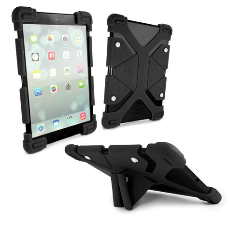 Casing Rugged Armor Air 9 7 Inch Kick Stand Soft Cover rugged universal silicone tablet stand for 9 quot 12 quot inch tablets black