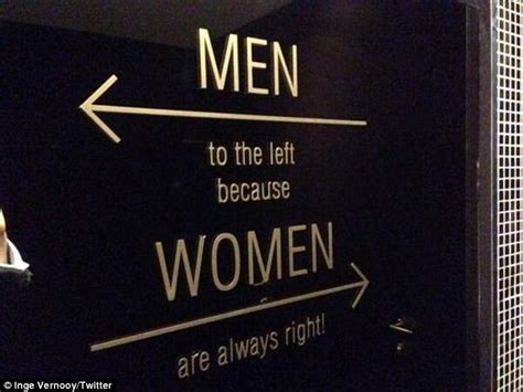 Bathroom On The Right by Best Bathroom Signs From Around The World Daily Mail
