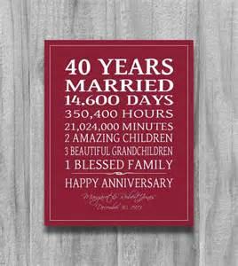 25 best ideas about ruby wedding anniversary gifts on 40th wedding anniversary gift