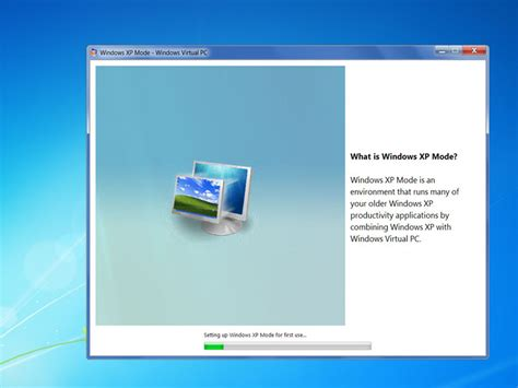 installing xp on windows how to install windows xp mode in windows 7 with pictures