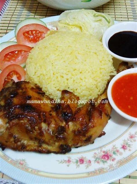 Ayam Panggang Ayamas dari dapur madihaa nasi ayam panggang bercajun
