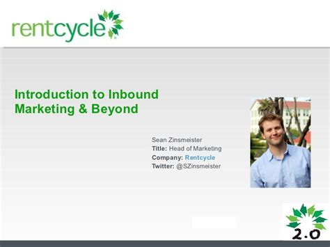 Paper Presentation Topics For Mba Marketing by Mba Inbound Marketing Presentation 2011