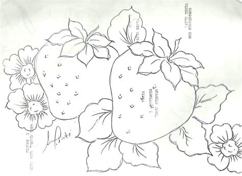 patrones para pintar en tela para nios dibujos de flores y frutas para pintar en tela buscar