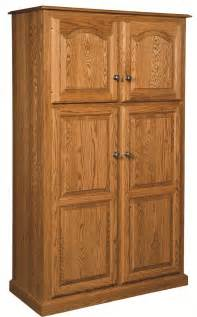 Kitchen Pantry Cabinets by Amish Country Traditional Kitchen Pantry Storage Cupboard