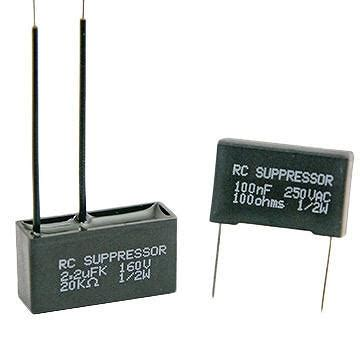 capacitor dv dt taiwan rc suppressor spark killer snubber capacitor suppress arcing reduce dv dt and radio