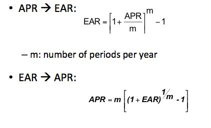 what is apr and how ear versus apr expbux