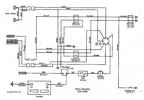 solenoid wireing diagram snapper sr1433 mower wiring