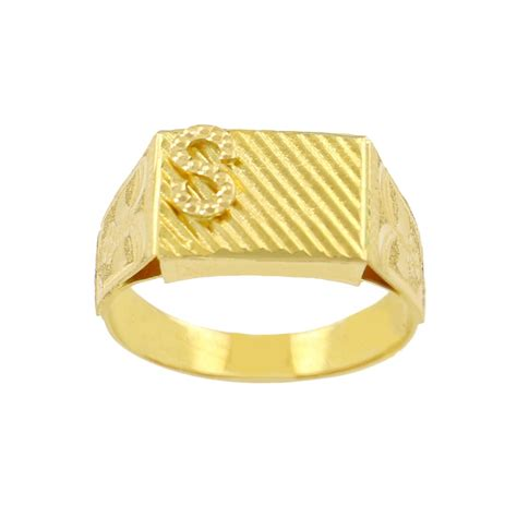 Gold Rings For by Gold Rings Buy S Embossed Gold Ring Of Article